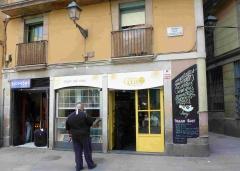 Barcelona Cafe Essen Innenstaft